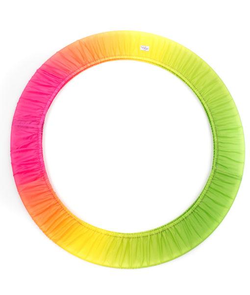 portacerchio-sfumato-verde-giallo-arancio-fuxia