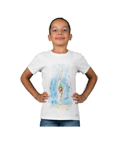 t-shirt palla