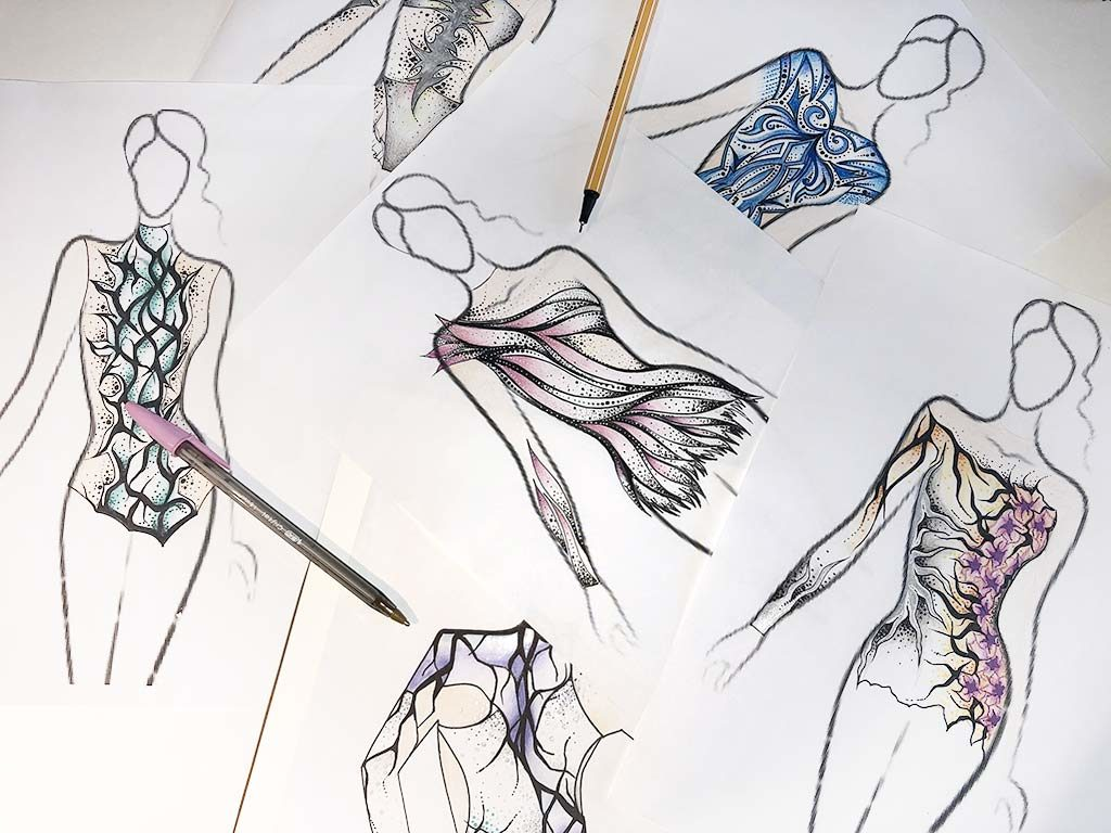 Produzioni body per ginnastica artistica di Susanna Marchesi