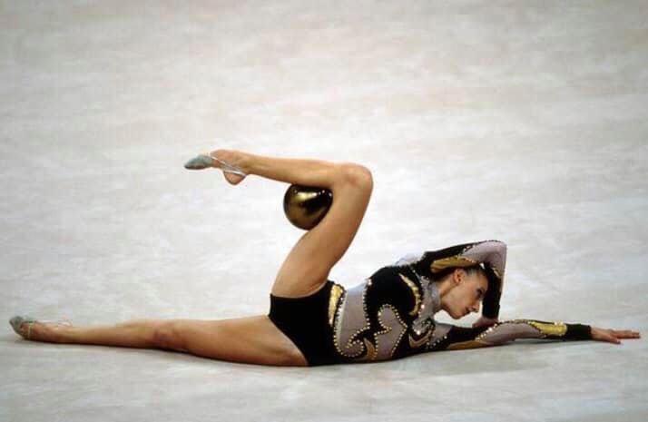 Susanna Marchesi atleta della Nazionale individualiste di ginnastica ritmica.